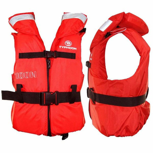 Typhoon 100N life jacket XS/S Chest Less Than 65cm Weight 10-20 Kgs