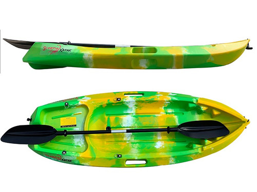 XTREME fun Scorpio  kids kayak includes seat back & paddle