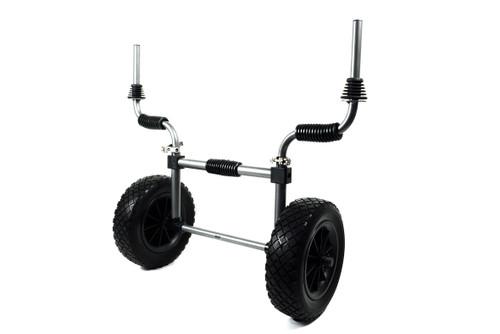 RUK Sport Sit on Top Kayak Trolley - Sand Rat