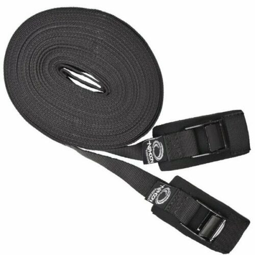 TYPHOON 3m Long Tie Down Straps Pack of 2 Strong and Safe