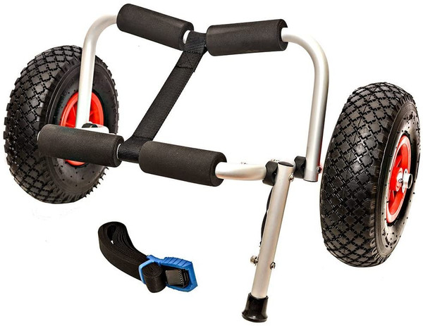 H2o Adventurer Kayak, Canoe SUP Trolley Includes Strap & Kick Stand