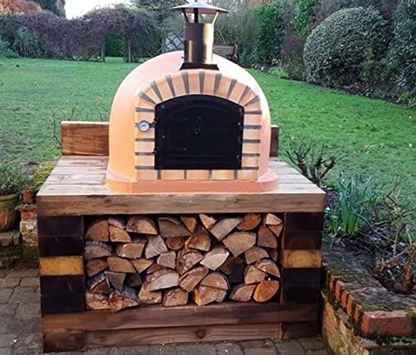 Impexfire Lisboa Steel Door Wood-Fired Oven 90 x 90 cm Includes Free accessories