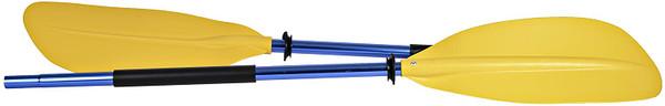 H2o Asymmetrical Kayak Paddle 220cm Yellow Blade Blue Shaft…