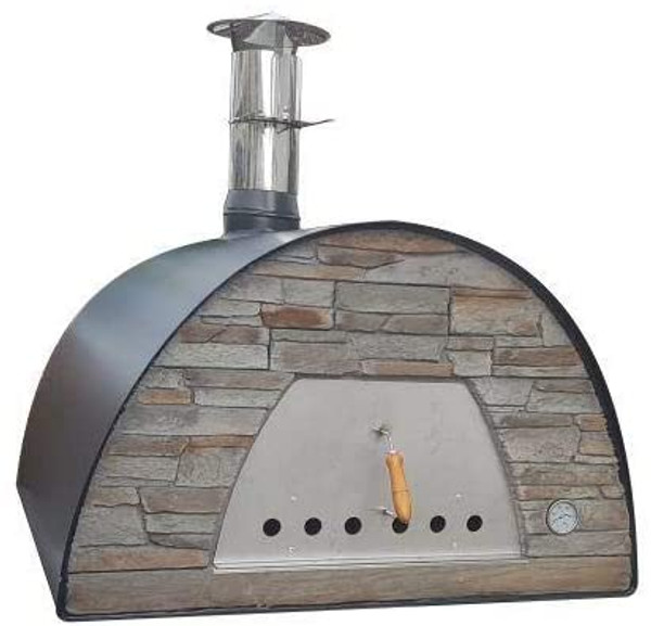 MAXIMUS Prime Arena Black Large Family/Commercial Wood-Fired Oven