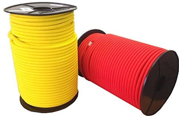 Heavy Duty 6mm Yellow Monoflex ™ Shock Cord (per 2 m)