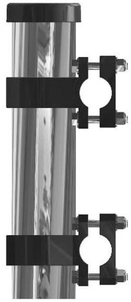 Side/Rail Mount Fishing Rod Rod Holder Stainless Steel…