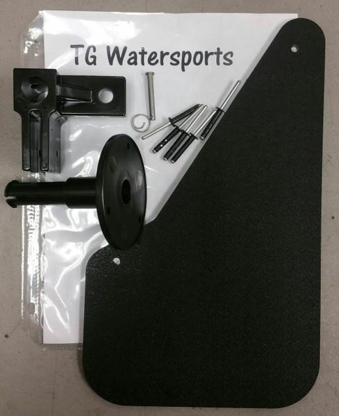 Sun Dolphin & Water Wheeler Pedal Boat Rudder  Assembly Kit
