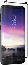 ZAGG InvisibleShield, GLASS CURVE Elite, Case Friendly, Curved Impact & Scratch Protection, Samsung Galaxy S9