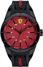 Scuderia Ferrari Red Rev Watch ( Red texture dial )