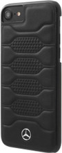 """Mercedes , Case for iPhone 8/7 , collection """"PATTERN I"""" ,  Genuine leather ,Black"""
