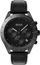 Hugo Boss Watch, Talent collection, Black Ceramic Case , Black Dial, Black Ceramic Bezel, Black Smooth Strap