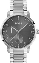 Hugo Boss Watch, Oxygen  collection, Stainless Steel, Gray Dial, Stainless Steel Bracelet