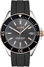 Hugo Boss  Watch, Ocean Edition with Luminova technology , Silicone Strap