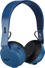 Navy Rebel BT Bluetooth Headphones, by The House of Marley