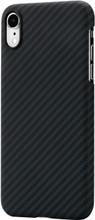 "Pitaka, Aramid case  for iPhone Xr ( 6.1""), Black/Grey, Made of 100% real Aramid"