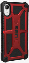 UAG,  Monarch Series, Case for iPhone Xr, Red/Black (Crimson)