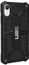 UAG, Monarch Series, Case for iPhone Xr, Black (Carbon Fibre)