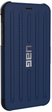 UAG,  Folio Series , Case for iPhone Xr, Blue/Black (Cobalt)