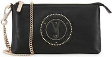 Versace Jeans, Clutch Bag, with removable shoulder strap, Black 2