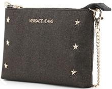 Versace Jeans, Clutch Bag, with removable shoulder strap, Grey