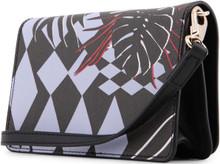 Versace Jeans, Clutch Bag, with removable shoulder strap, Forest Blue