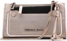 Versace Jeans, Clutch Bag, with removable shoulder strap, Gold