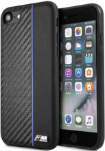 BMW, Case for iPhone 8,  Bi-Material Carbon  - Navy