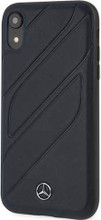 """Mercedes , Case for iPhone Xr, collection """"NEW ORGANIC I """", Genuine leather, Blue Abyss"""