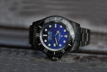 Rolex, Label Noir, Deepsea D-Blue Blue, Limited  Edition