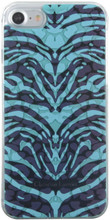 Cristian Lacroix , iPhone 8/7 , PANTIGRE collection ,Turquoise , 3D impression ,Made in France