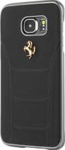 "Hard-case, Ferrari ""488"" Collection for Samsumg Note 5, Genuine Leather, Black."