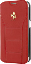 "Booktype, Ferrari ""488"" Collection for Samsumg S7, Genuine Leather, Red. front view"