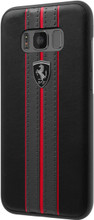 Hard-case, Ferrari URBAN Collection for Samsung S8 Plus, PU leather, Black.