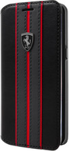 Book Case, Ferrari URBAN Collection for Samsung S8 Plus, PU leather, Black.