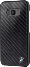 Hard Case, BMW CARBON INSPIRATION for Samsung S8 Plus, Carbon Fiber, Black