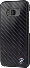 BMW  Case ,  for Samsung Galaxy S8 Plus , Real Carbon Fiber , Black