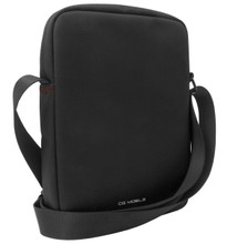 """Ferrari Urban Collection - Tablet Bag 10"""" (Black with Red Piping)"""