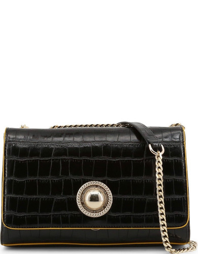 9049503101e Versace Jeans, Woman's Shoulder Bag, Embossed Leather - Luxmart Canada