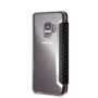 BMW, Book-Case for Samsung S9 ,  Bi-Material Carbon  - Navy