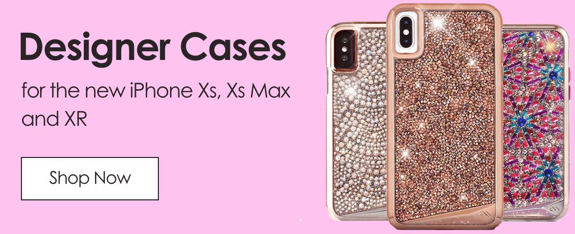 Designer Cases. For the new iPhone Xs, Xs Max and XR