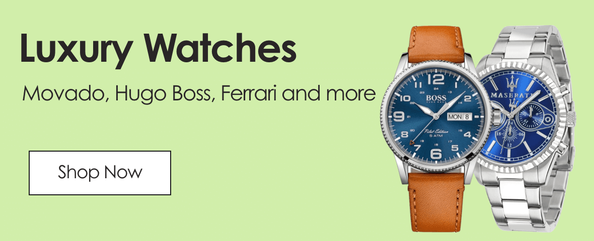 Luxury Watches. Movado, Hugu boss, Ferrari and more. Shop now.