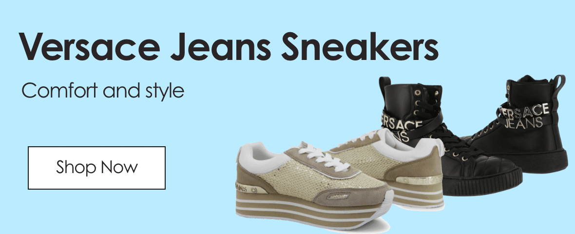 Versace Jeans Sneakers. Comfort and style. Shop now.