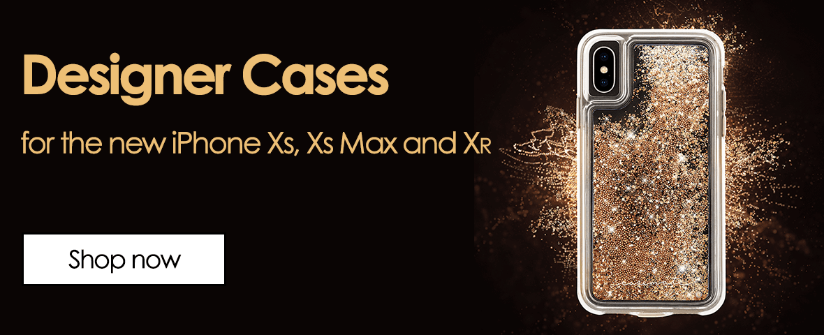 Designer cases. for the new iphone Xs, Xs max and Xr. Shop now.