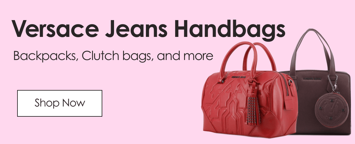 Versace Jeans Handbags. Backpacks, Clutchbags and more.