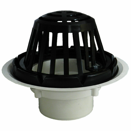 """3"""" Standard Roof Drain with Cast Iron Dome"""