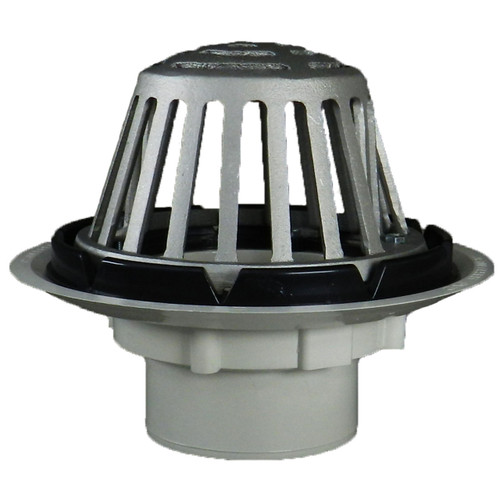 """3"""" Standard Roof Drain with Aluminum Dome"""