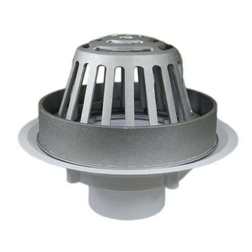 """3"""" Overflow Roof Drain with Aluminum Dome"""