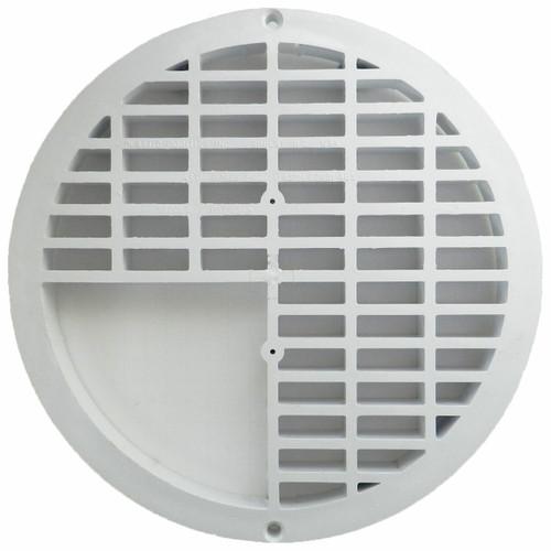 """12"""" Plastic Floor Sink  Three-Quarter Grate"""