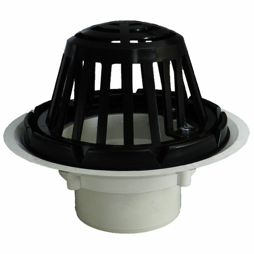 """3"""" Standard Roof Drain with Plastic Dome"""