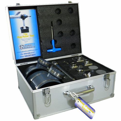 """Plug Puller Cleanout Tool for 3"""" or 4"""" Cleanouts"""